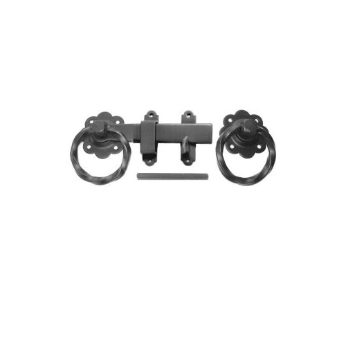 No.CLEARANCE/1137/PP Prepacked Twisted Ring Handle  Gate Latch