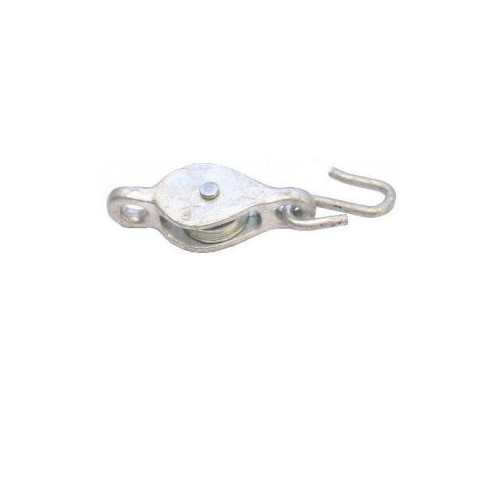 No.1260/C Single Line Cast Pulley With Hook - Cast Wheel