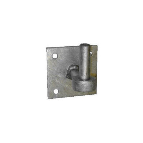 """19mm No.153EX Hook on 4"""" x 4"""" Plate with Extended Shoulder - PREPACKED"""