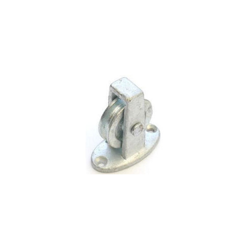 No.268/C Upright Cast Pulley - Cast Wheel Along the Plate
