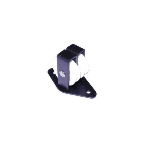 No.269 Double Upright Cast Pulley - Nylon Wheel Along the Plate