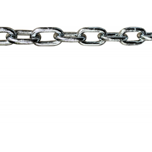 No.350U Strong Case Hardened Round Link Security Chain (Unsleeved)