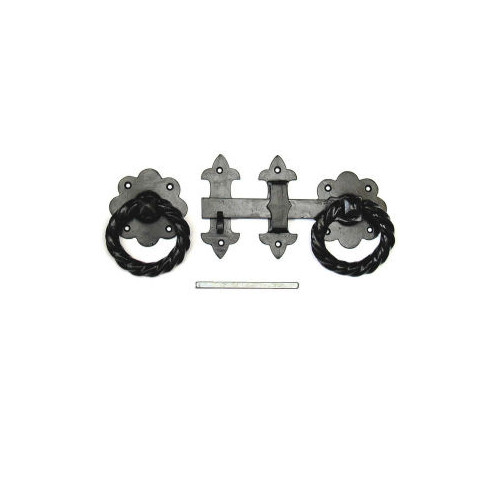 Prepacked Large Heavy  Twisted  Gate Latch