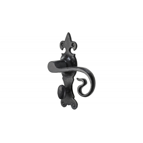 165mm x 52mm No.4018 Old Hill Ironworks Wychwood Suite Lever Bathroom Handles