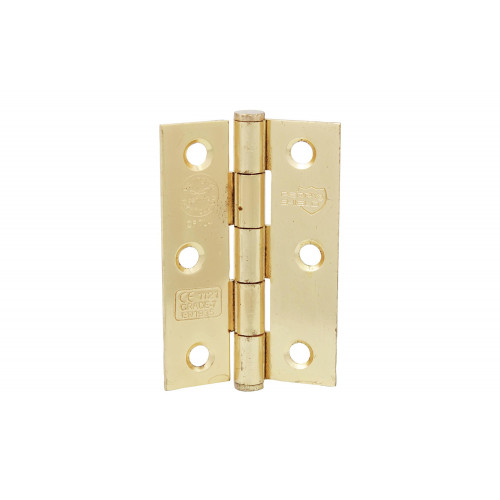 No.CLEARANCE/5001 Perry Shield Grade CE7 Certifire Fire Door Butt Hinge with Button Tip Pin - FD60