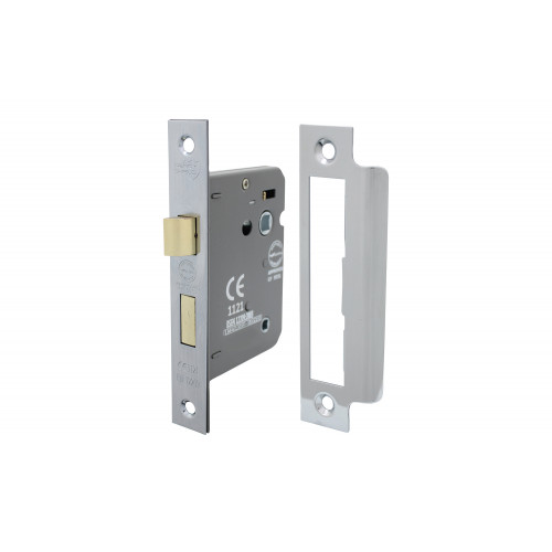 No.5011 Perry Shield CE Certifire Bathroom Lock with Removable Plate - FD60