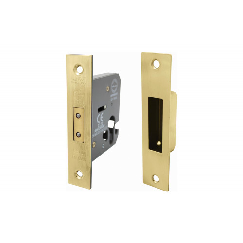 No.CLEARANCE/5014 Perry Shield CE Certifire Cylinder Mortice DeadLock (Euro Profile) - FD60