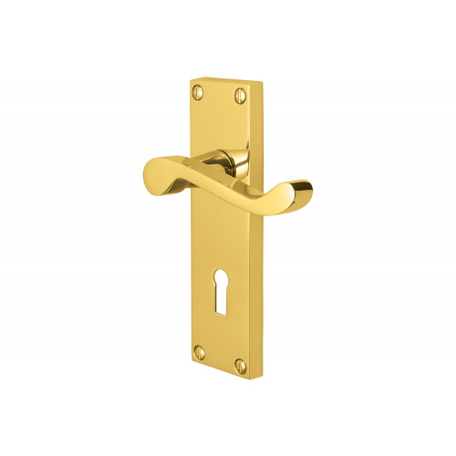 150mm No.5401 Vision Pegasus Victorian Scroll Lever Lock Handles