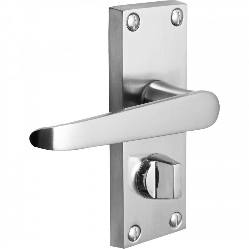 115mm No.5408 Vision Zeus Victorian Straight Lever Privacy Handles