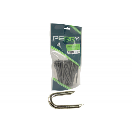 No.6033 Pointed (Netting) Wire Staples - PREPACKED