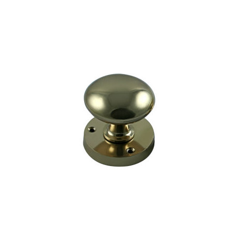 No.655V Solid Brass Victorian Mortice Knobs - Unsprung