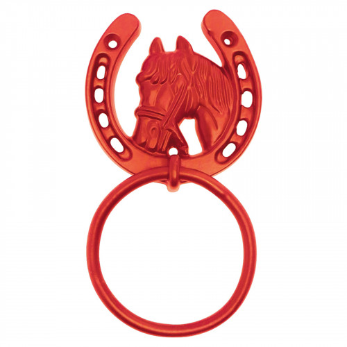 No.7142 Horse Shoe Tie Rings on Plate