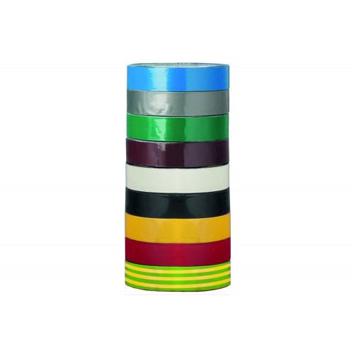 19mm x 20m No.7403 Perry PVC Insulation Tape CE Marked & Cerified to EN 60454-3