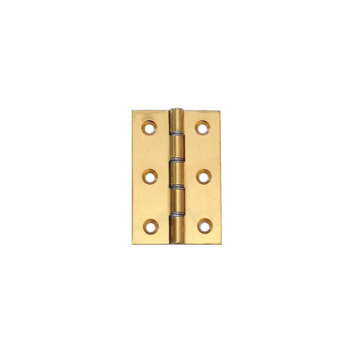 No.78 Solid Brass Double Steel Washered Strong Butt Hinges