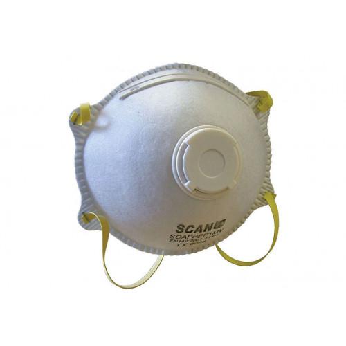 No.8308 Scan Moulded Disposable Mask Valved FFP1 Protection