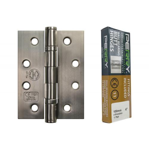 No.CE451/11 Stainless Steel Fire Door Hinges - Grade 11
