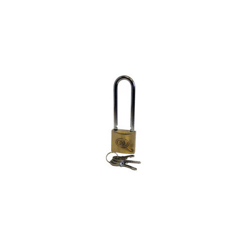 Prepacked Tri-Circle Brass Padlocks