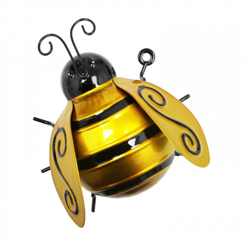No.PA1871 Medium Metal Bumblebee Wall Art