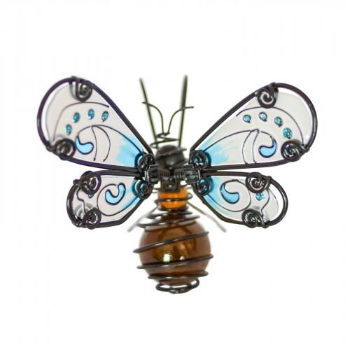 No.PA4050 Glass Wing Honeybee Pot Hanger