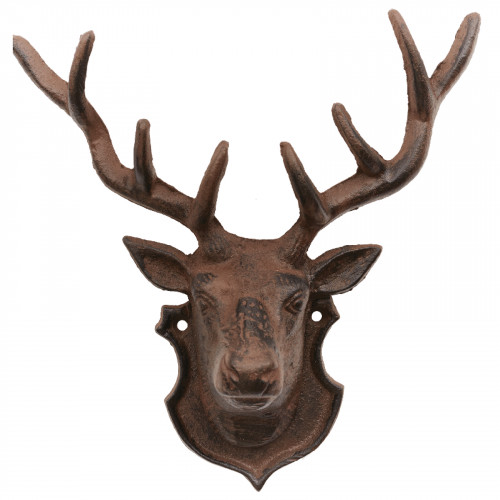 Cast Iron Stag Head PC4384