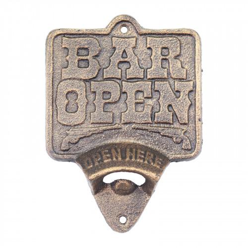 Cast Iron Bar Open Wall Mounted Bottle Opener