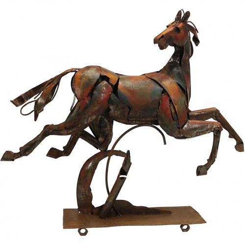 The Running Horse Metal Sculpture PG1603