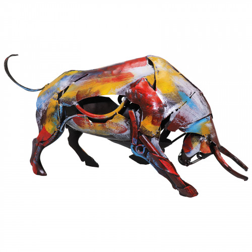 The Charging Bull Metal Sculpture PG1615