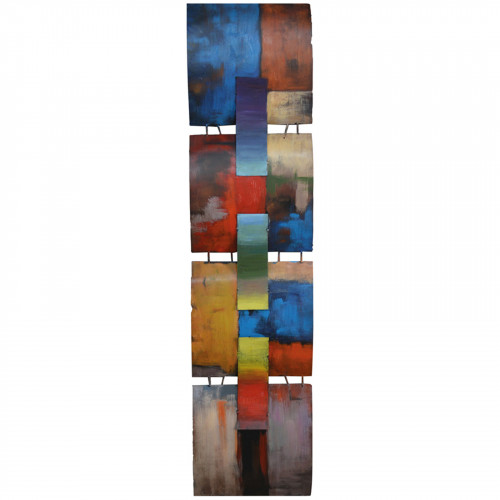 A Mondrian Tribute - 3D Metal Abstract Art PG1807