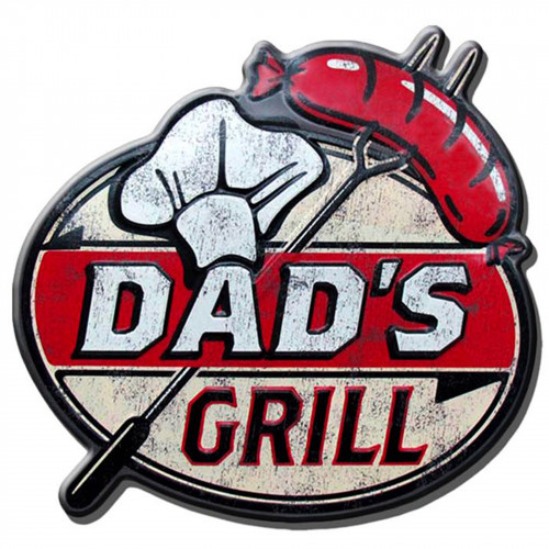 Dad's Grill Metal Plaque PH2031