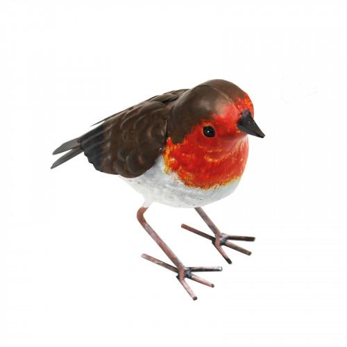 No.PQ1470 Large Metal Robin