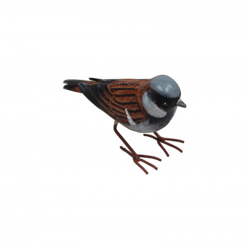 No.PQ1475 Small Metal House Sparrow