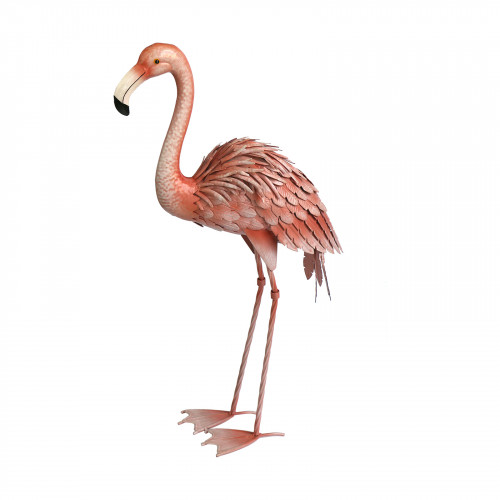 No.PQ1632 Small Metal Flamingo