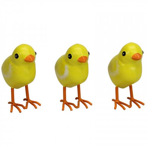 Small Metal Chicks - Set of 3 PQ1776