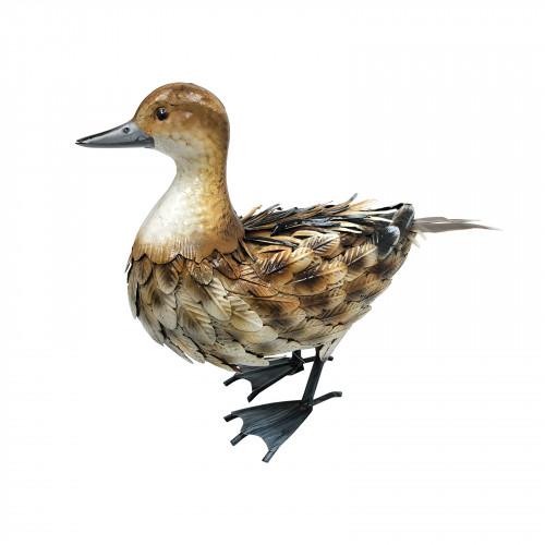 No.PQ1825 Metal Brown Duck
