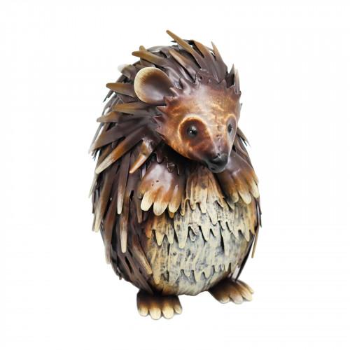 No.PQ1839 Small Metal Standing Hedgehog