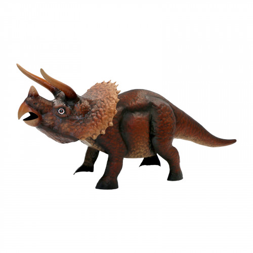 No.PQ1902 Large Metal Triceratops