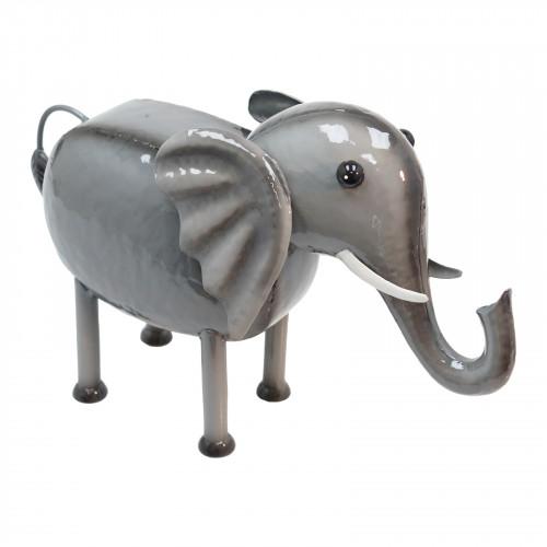 No.PQ2603 Elle The Elephant Metal Garden Sculpture