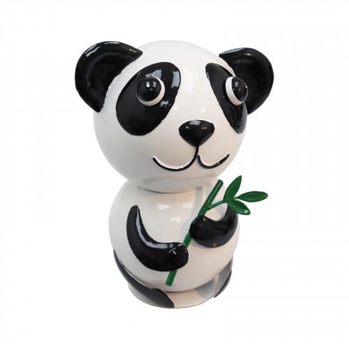No.PQ2606 Wanda The Panda Metal Garden Sculpture