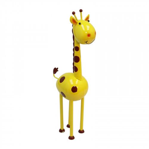 No.PQ2608 Geoff The Giraffe Metal Garden Sculpture