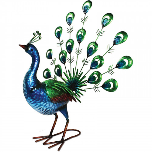Vibrant Metal Fantail Peacock PQ3011