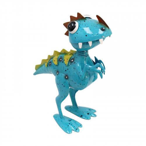 No.PQ3101 Ronny Raptor Blue Metal Goofasaurus