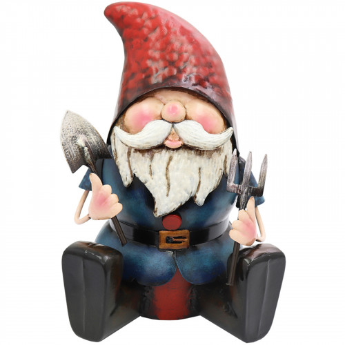Metal Gnome Ready to Dig PQ5010