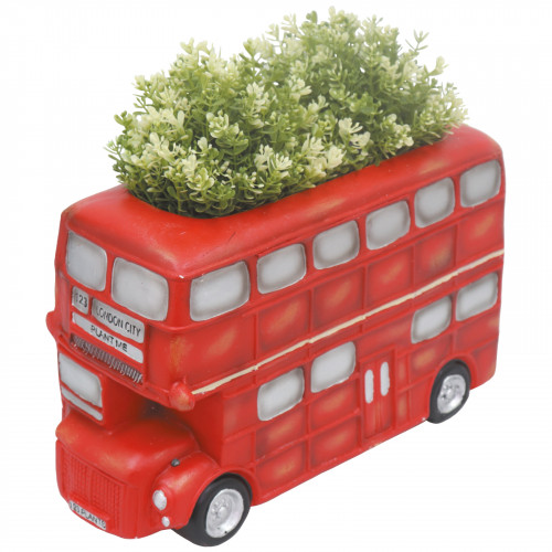 London Bus Planter (Frost Proof Polyresin)