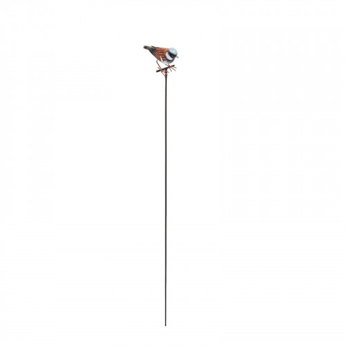 No.PS1476 Large Metal House Sparrow on Stake