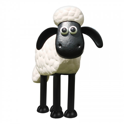 Shaun the Sheep Metal Sculpture PSTS2010