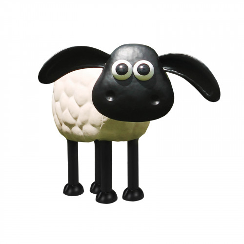 Timmy the Sheep Metal Sculpture PSTS2011