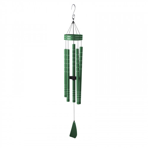"No.PT1022 Chorus Musical Wind Chime - 40"" Green"