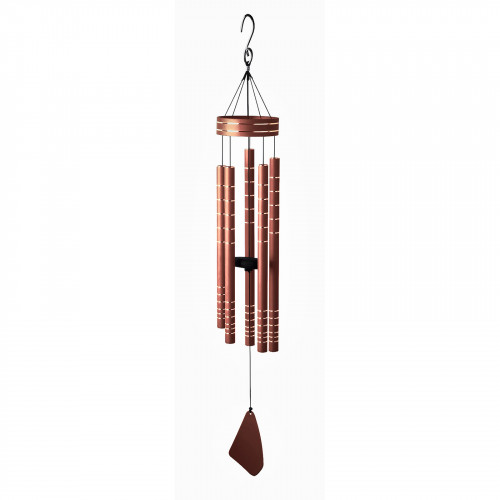 """No.PT1024 Chorus Musical Wind Chime - 40"""" Rose Gold"""