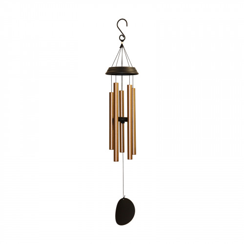 "No.PT1043BZ Concerto Musical Wind Chime - 28"" Bronze"