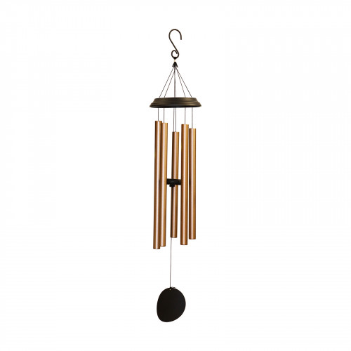 "No.PT1044BZ Concerto Musical Wind Chime - 36"" Bronze"
